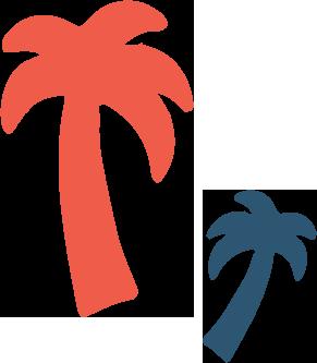 Beach Bum palms