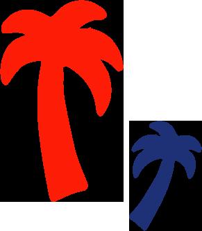 Beach Bum palms brighton