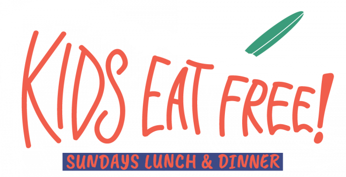 beach bum kids eat free sunday lunch and dinner